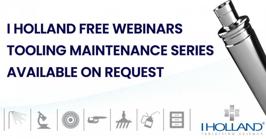 Webinar_Tool Maintenance Series_Available on request