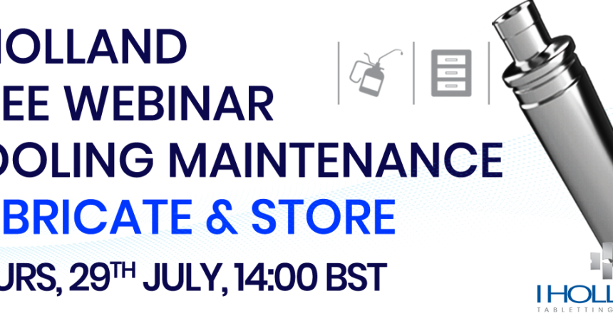 Webinar_Tool Maintenance_Lubricate&Store