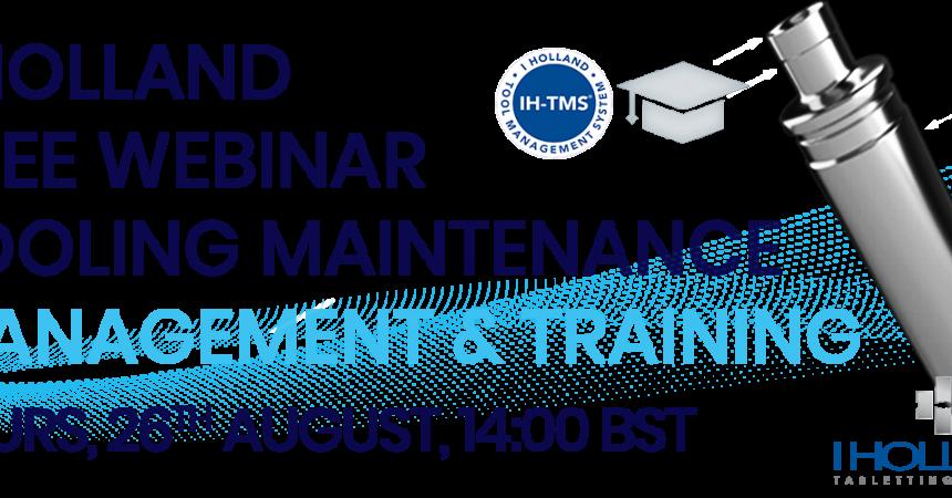 Webinar_Tool Maintenance_Management&Training