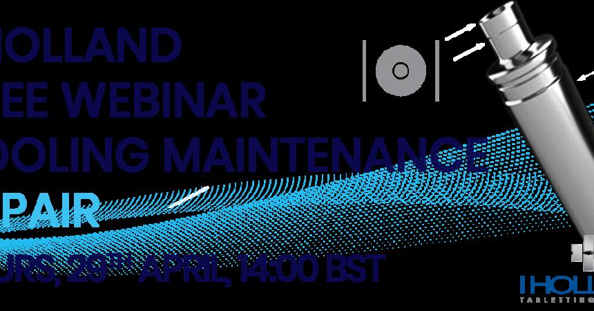 Webinar_Tool Maintenance_Repair